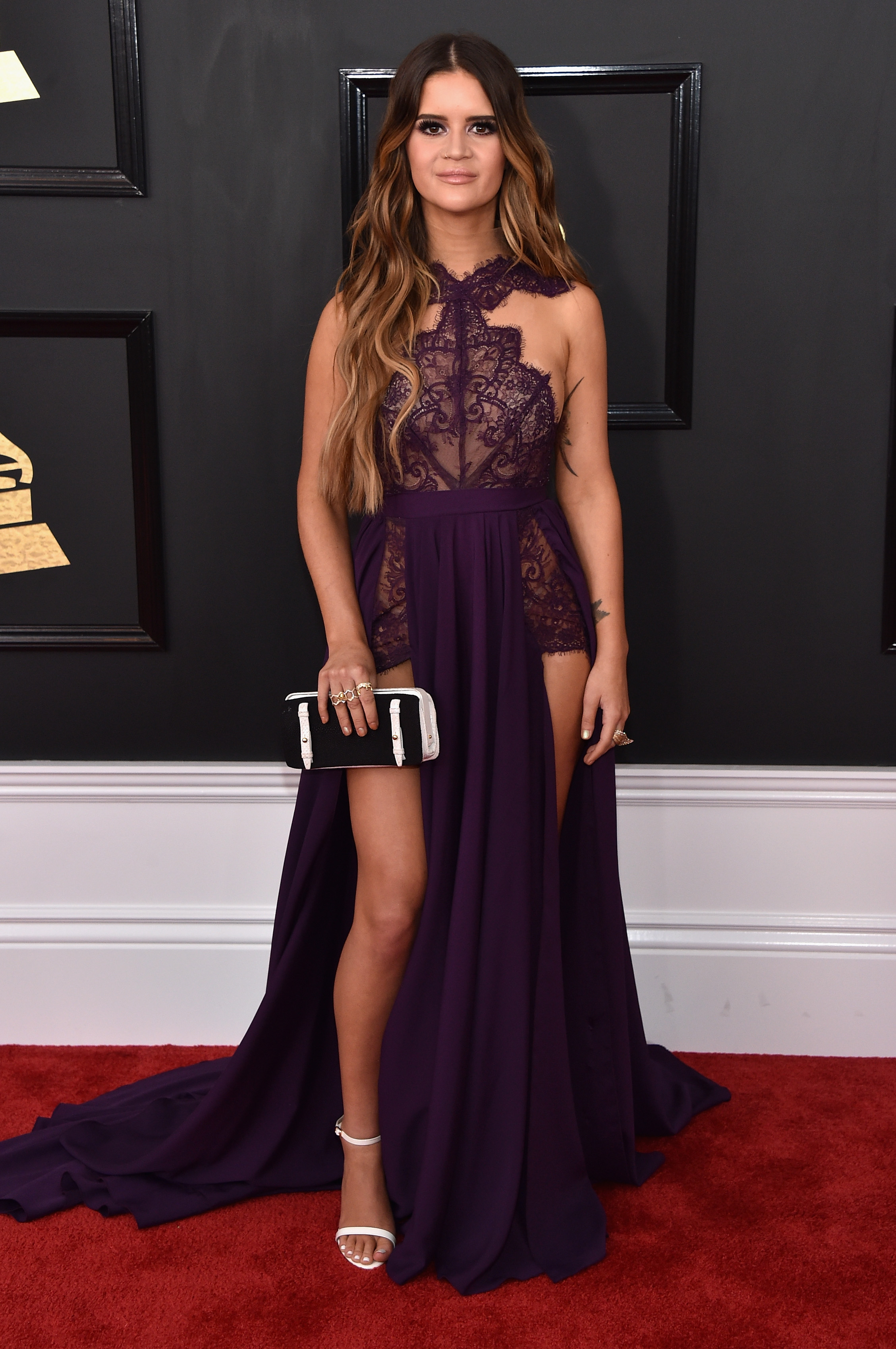 Maren Morris attends The 59th GRAMMY Awards; Photo by John Shearer/WireImage