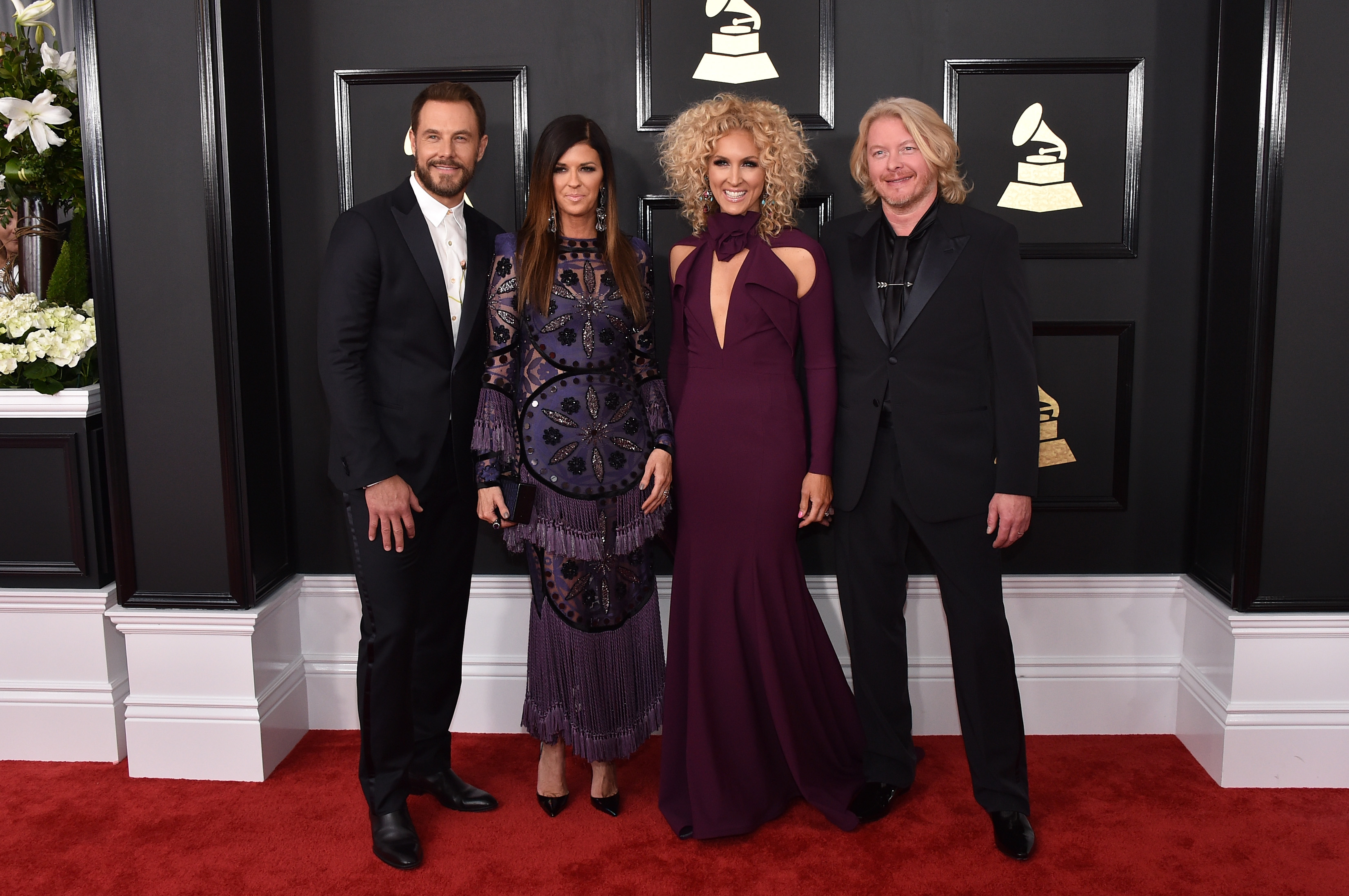 Little Big Town attends The 59th GRAMMY Awards; Photo by John Shearer/WireImage