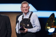 Rory Feek Gives Emotional Speech After Winning GRAMMY for 'Hymns'