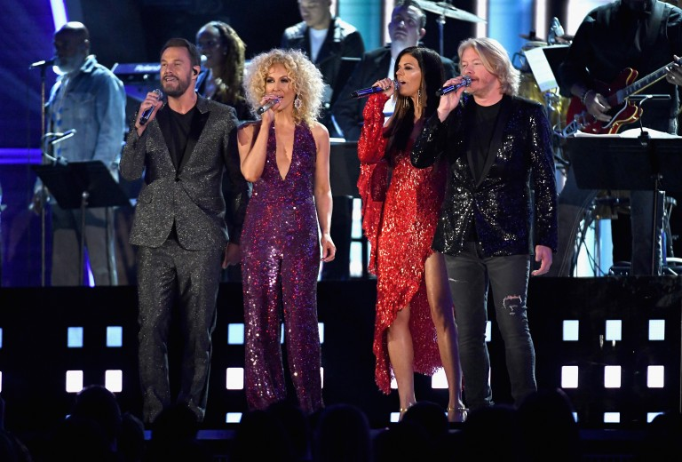 Little Big Town Give Fans a Taste of Bee Gees Tribute on GRAMMY Awards