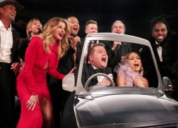 Tim McGraw, Faith Hill and Keith Urban Sing Carpool Karaoke (GRAMMYs Style!)