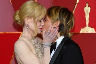 Keith Urban and Nicole Kidman Make Steamy Red Carpet Appearance at The Oscars
