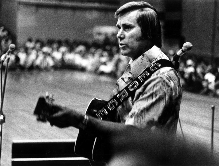 Throwback Thursday: Remember When George Jones Released 'White Lightning?'