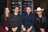 Justin Moore Celebrates 'You Look Like I Need A Drink' in Nashville