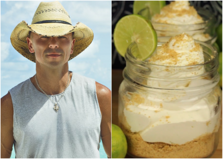 Get on Island Time with Kenny Chesney's Key Lime Rum Cream Cheesecake