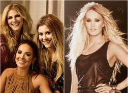 Runaway June Feels the Love from Carrie Underwood