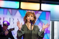 Reba Gets Choked Up Singing Songs From Her New Album