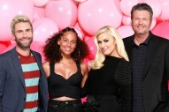 Gwen Stefani Was 'Nervous' to Work Alongside Boyfriend Blake Shelton Again