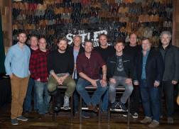 Blake Shelton Celebrates 23rd No.1 Single, 'A Guy With A Girl,' in Nashville