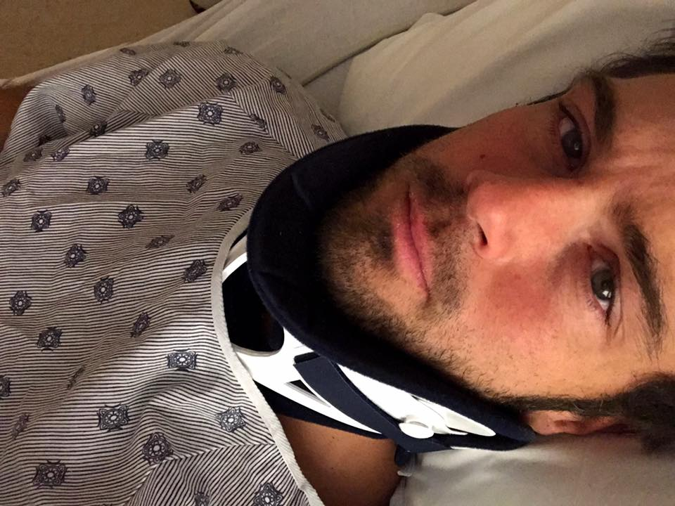 Chuck Wicks Feels 'Lucky To Be Alive' After Car Accident