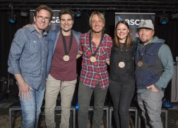 Keith Urban Revels in Success of 22nd No.1 Single, 'Blue Ain't Your Color'
