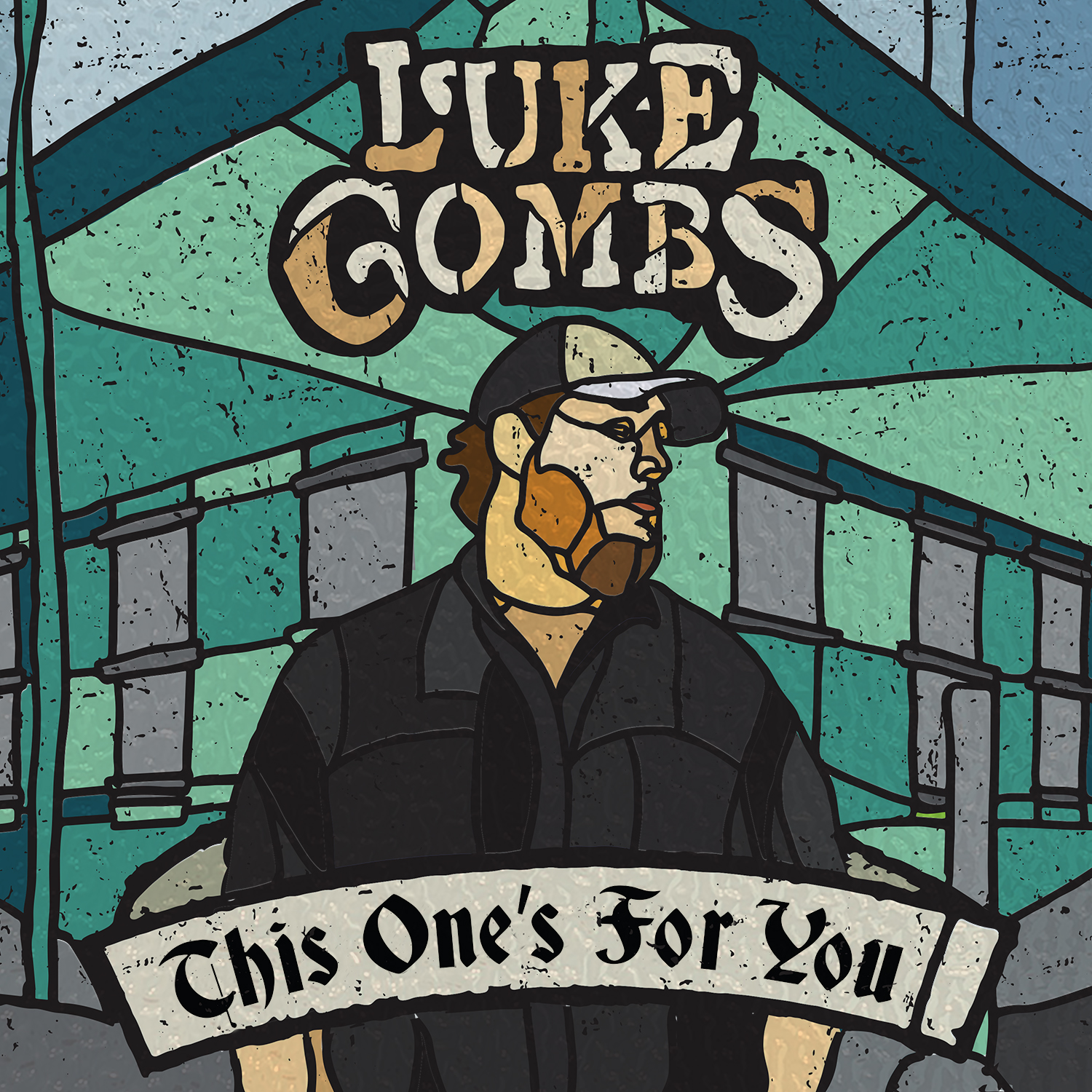Luke Combs - 'This One's For You' Cover Art