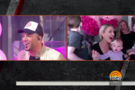 'TODAY' Surprises Chris Lucas from LoCash with Gender Reveal News