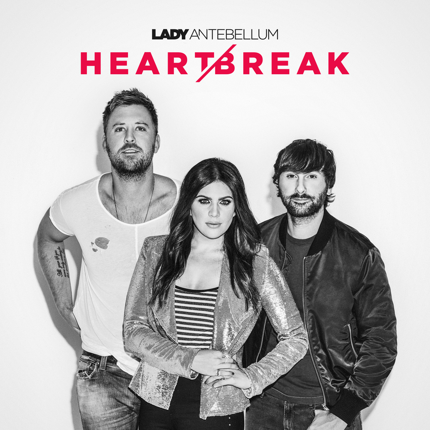Lady Antebellum Heart Break Album Art; Photo courtesy The Greenroom PR