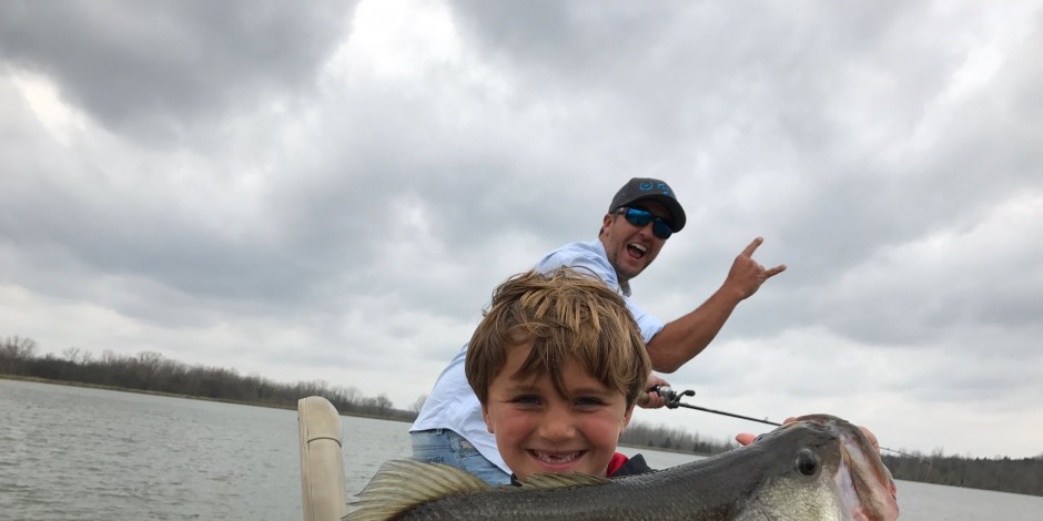 Why Luke Bryan Takes His Sons Fishing