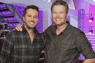 Luke Bryan and Blake Shelton Put Bromance on Display on 'The Voice'