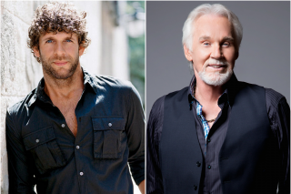 Billy Currington Explains his Admiration for Kenny Rogers