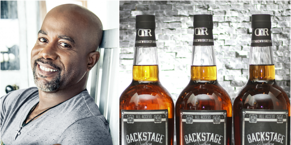 Darius Rucker Develops Backstage Southern Whiskey
