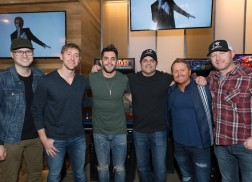 Thomas Rhett Celebrates Double No. 1 Hits Among Friends and Family