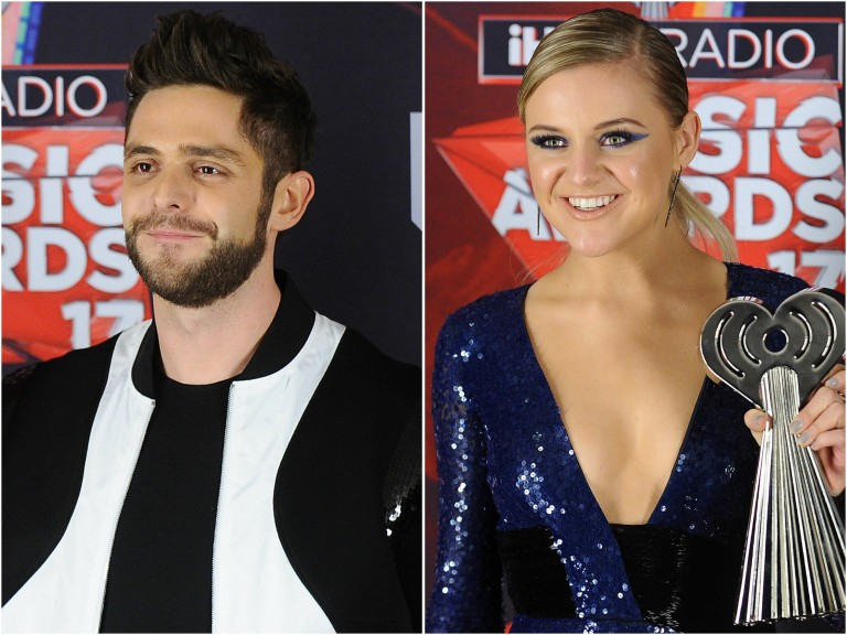 Thomas Rhett, Kelsea Ballerini Win Big at 2017 iHeartRadio Music Awards