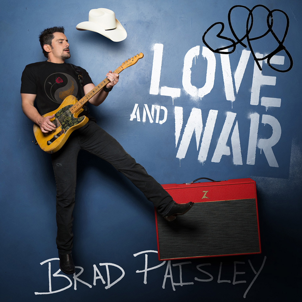 Paisley Turns 'Love and War' Into Country's First Visual Album