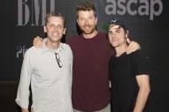 Brett Eldredge Celebrates 'Wanna Be That Song' in Nashville