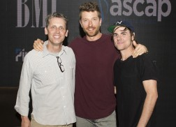 Brett Eldredge Celebrates 'Wanna Be That Song' in Nashville