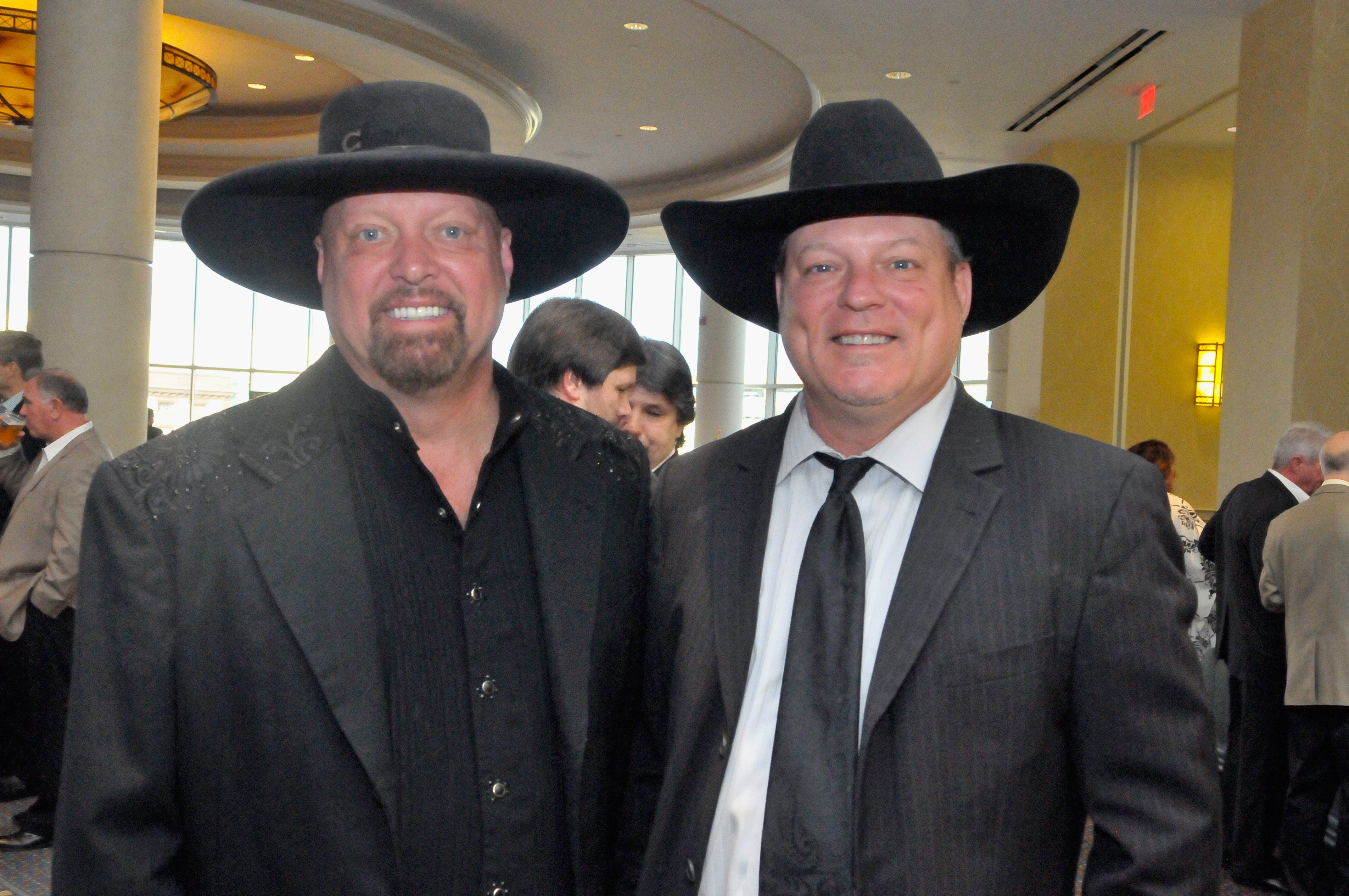 Eddie Montgomery and John Michael Montgomery; Photo by Stephen J. Cohen/Getty Images