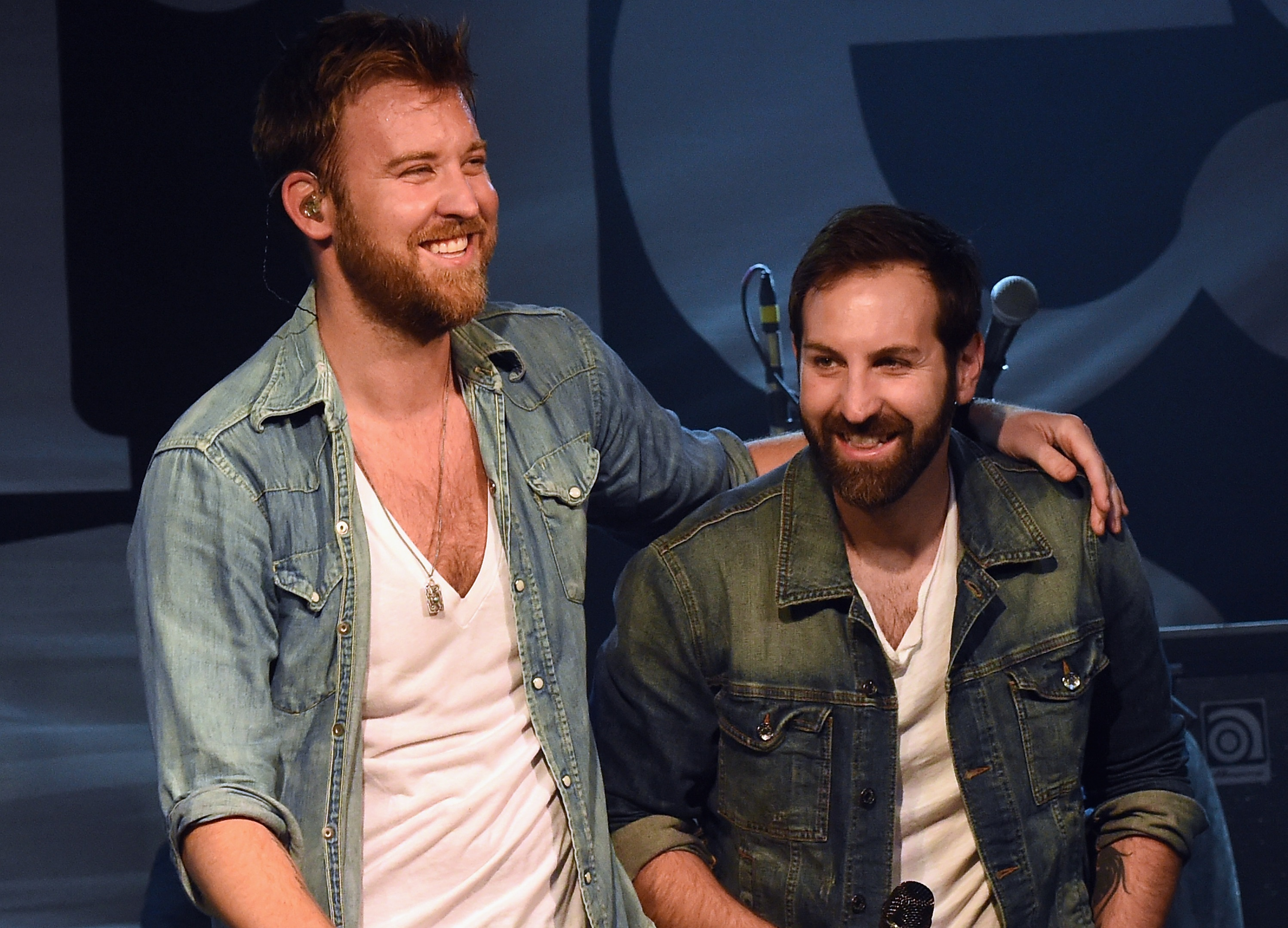 Charles Kelley and brother Josh Kelley; Photo by Rick Diamond/Getty Images for 3rd & Lindsley