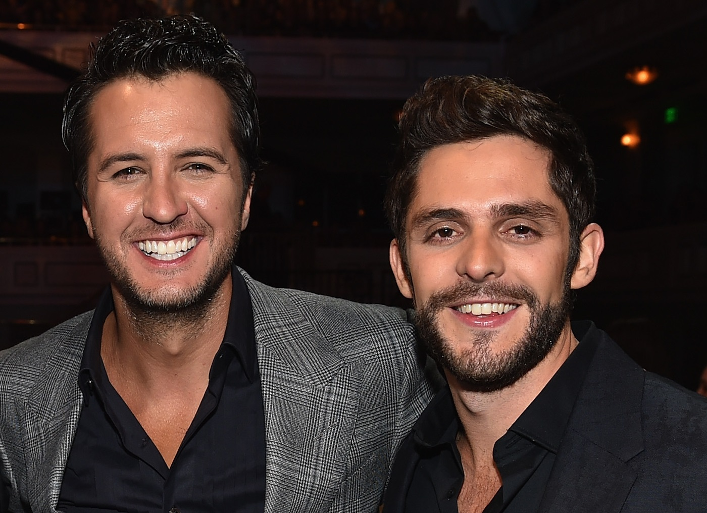 Thomas Rhett Reflects On Fatherly Advice From Dierks