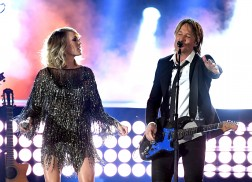 Carrie Underwood and Keith Urban Rock 'The Fighter' at ACM Awards