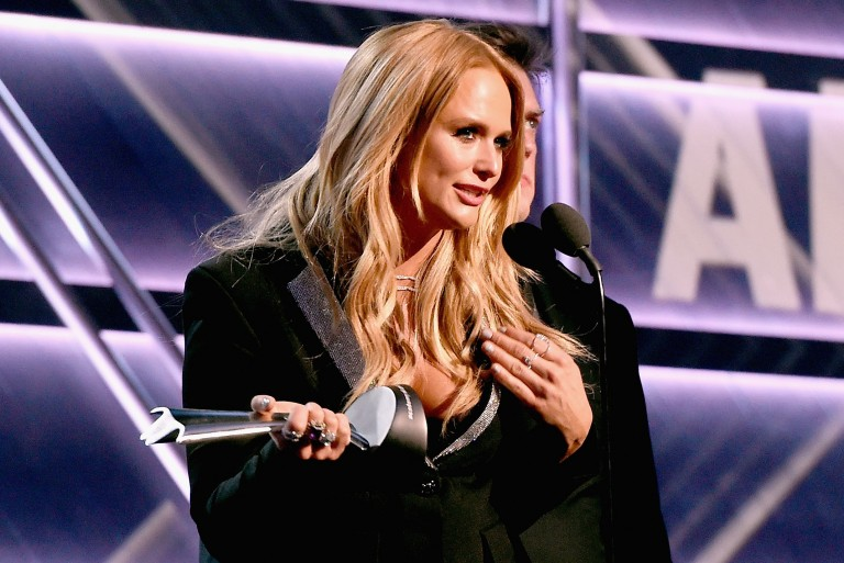 Miranda Lambert Takes Home Trophy for ACM Album of the Year
