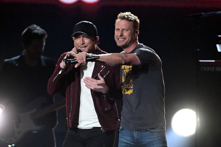 Cole Swindell and Dierks Bentley Bring the Party to the ACM Awards with 'Flatliner'