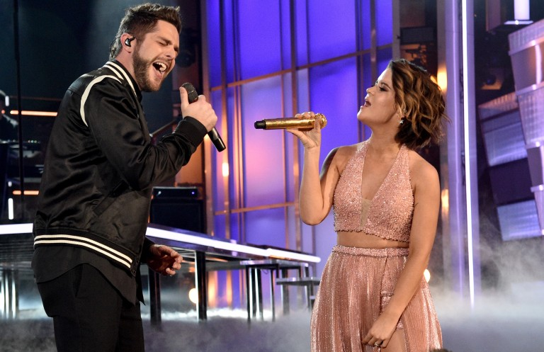 Thomas Rhett and Maren Morris Knock it Out of the Park with Live Debut of 'Craving You'