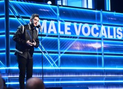 Thomas Rhett In Disbelief After Winning ACM Male Vocalist of the Year