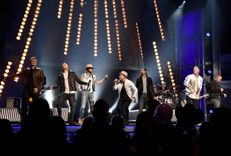 Florida Georgia Line and Backstreet Boys Fuse Country and Pop During ACM Performance