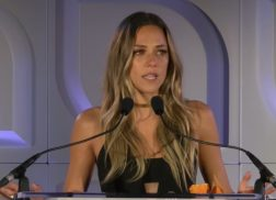 Jana Kramer Gives Powerful Speech About Domestic Abuse at Safe Horizon's Champion Awards