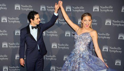 Kelsea Ballerini Sparkles During Performance at 2017 Nashville Symphony Fashion Show