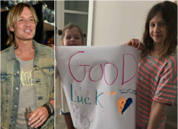 Keith Urban's Daughters Prove They're His Biggest Fan in Adorable Photo