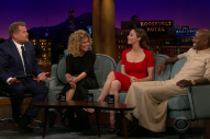 Shania Twain Admits to Stage Fright on 'The Late Late Show'