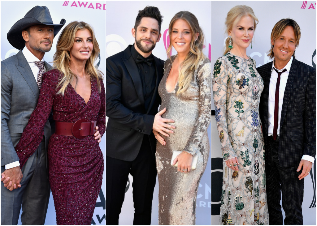 The 16 Hottest Country Couples On The Acm Awards Red