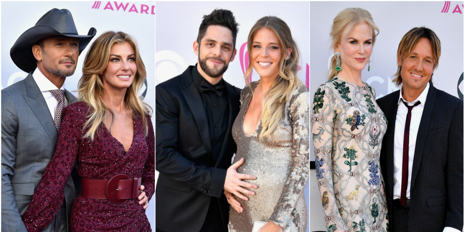 The 16 Hottest Country Couples on the ACM Awards Red Carpet