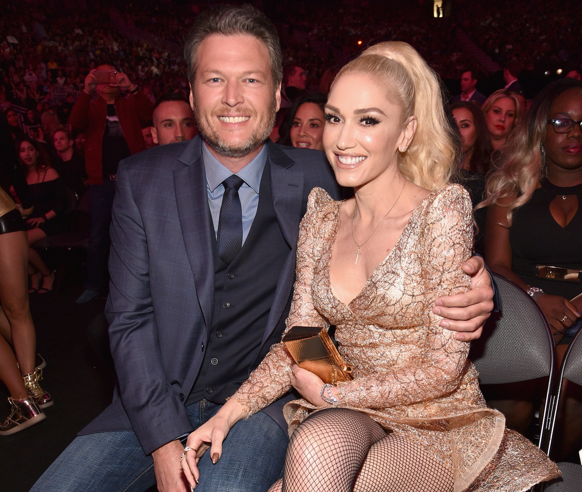 Gwen Stefani Teases New Christmas Song Featuring Blake Shelton