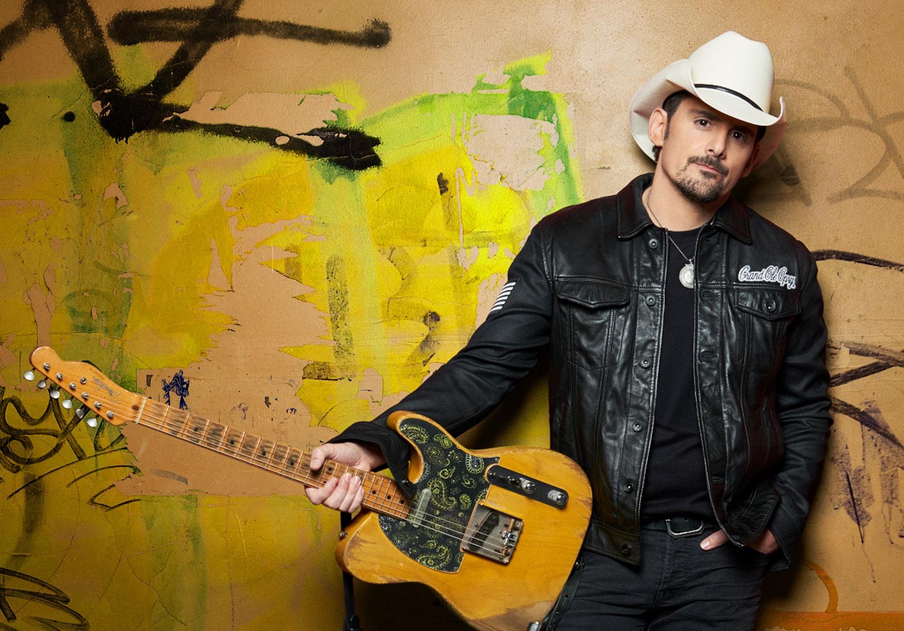 Brad Paisley: The Cover Story Sounds Like Nashville