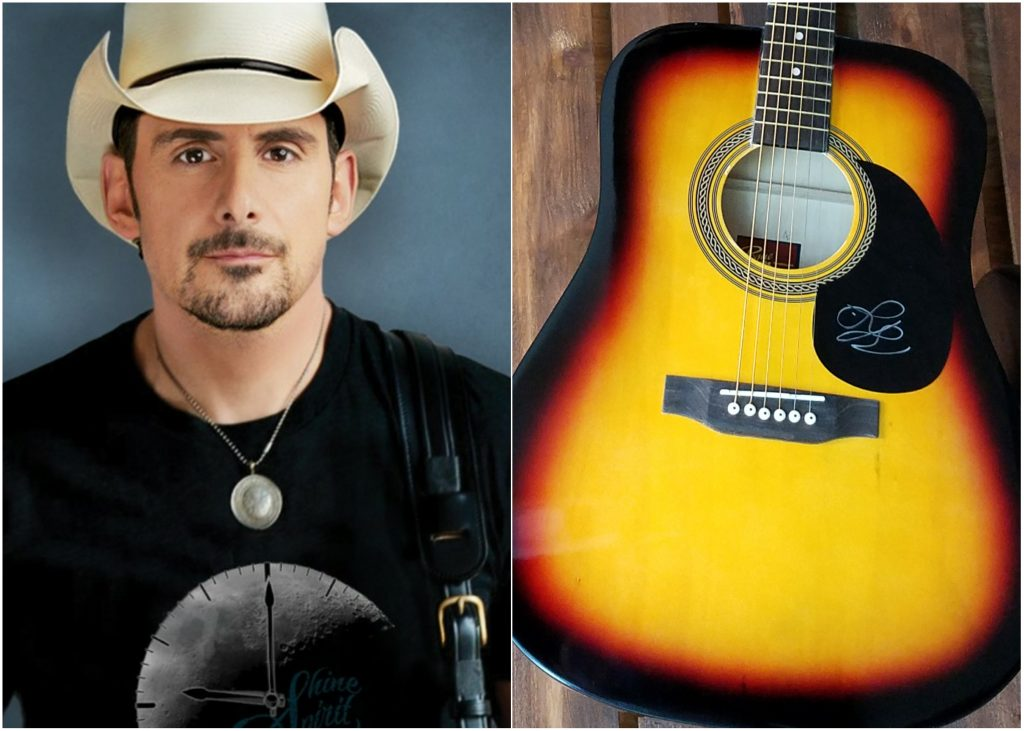 Win A Signed Brad Paisley Guitar And Love And War Cd
