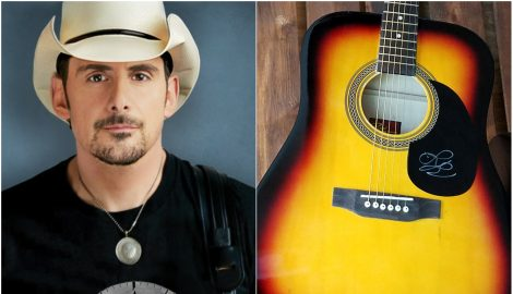 WIN A Signed Brad Paisley Guitar and 'Love and War' CD