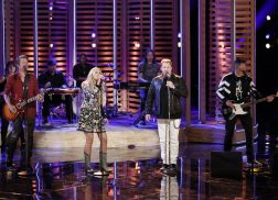 Rascal Flatts Harmonizes with Brennley Brown During 'The Voice' Finale