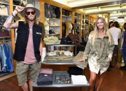 Brian Kelley and Wife Bring Clothing Line to Los Angeles Store