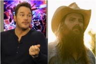 Chris Pratt Shares Excitement Over Personalized Chris Stapleton 'From A Room' Mixtape