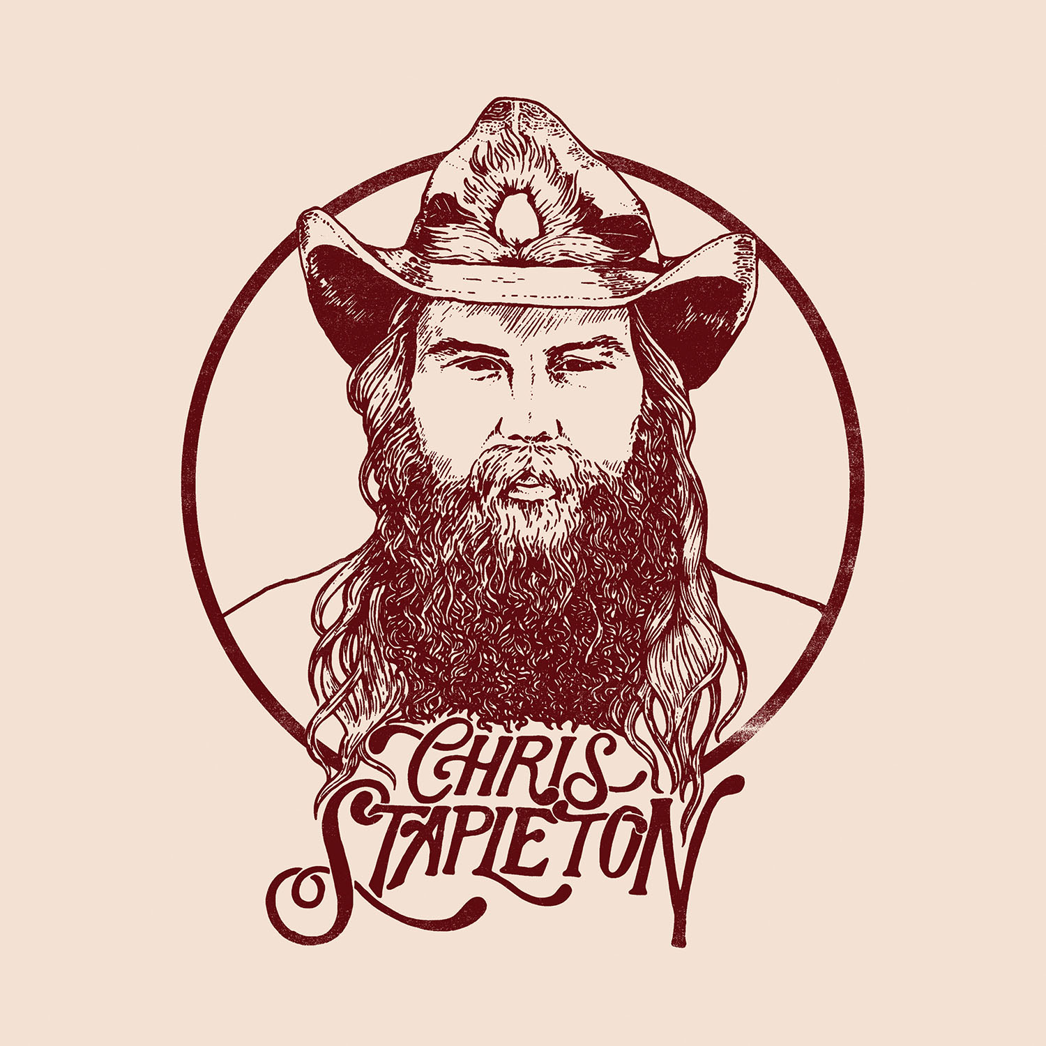 Chris Stapleton; Cover art courtesy Universal Music Group Nashville